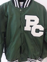 NEFF PC Green Varsity Jacket (Size M, Made in the USA) - $31.23