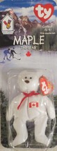 McDonald's Ty Teenie Beanie Maple the Bear 1999 - $3.55