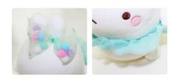 "Molang Ballerina Ballet Costume Rabbit Stuffed Animal Plush Pet Toy Cushion 9.8"" image 2"
