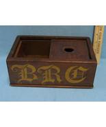 Antique Genuine Wooden Sorority Ballot Box  Wood  BRC Wording on Side - $75.23
