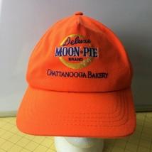 Vintage Orange Deluxe Moon Pie Brand Chattanooga Bakery Caps Hats Snapbacks - $19.55