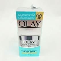 Olay White Radiance Light Intensive Perfecting Day Cream SPF24 Moisturizer 12g A - $20.66