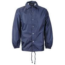 Renegade Men's Lightweight Water Resistant Button Up Windbreaker Coach Jacket image 4