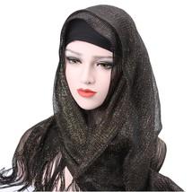 fashion Gorras mujer Women caps Tassels Muslim Stretch Turban Hats Chemo... - $7.59