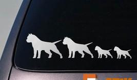"Pit Bull Family 8.5"" Sticker Decal Vinyl Car American Bully Apbt Amstaff D626 - $3.98"