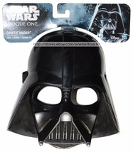 HASBRO* Costume DISNEY STAR WARS Halloween DARTH VADER MASK Black CHILDR... - £7.63 GBP