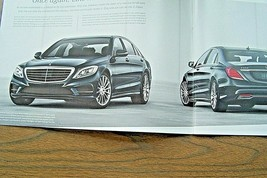 2014 mercedes s 63 amg s 550 owners sales brochure w 222  s class new original - $26.68