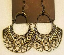 Paparazzi Indigenous Idol Brass Earrings - $11.87