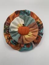 3.5 inch Harvest Pumpkin Dog Collar Slide - $8.00