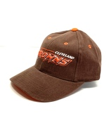 "Cleveland Browns Vintage Late 90's NFL ""3-D Browns"" Cap (New) By Logo At... - $27.99"