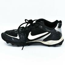Nike Land Shark Legacy Boy's Youth Kids Black & White Football Cleats Size 6Y image 7