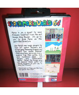 Super MarioWorld 64 US Cover w/ Box  Manual Cartridge for Sega Megadrive... - $24.78