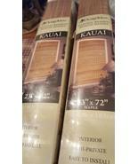 Kauai.....bamboo shades new in box. Bamboo blinds, window treatments - $18.70