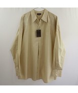 Knockout Jeans Embroidered and Rhinestones Button Front Shirt Mens Sz 5XLB - $38.60