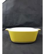 Corning Ware Harvest Casserole 1-1/2 Qt Yellow Gold P-1 1/2-B — NO LID - $17.99