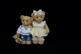 Cherished Teddies Bernard and Bernice 1997 Members Only Figurine CT972 - $13.96