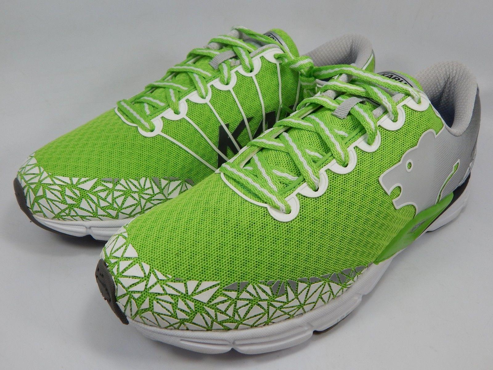 Karhu Flow 6 IRE Fulcrum Men's Running Shoes Size US 9 M (D) EU 42 Green White
