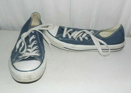 Converse Chuck Taylor All Star Blue Canvas Sneakers Women's 9.5 - $20.79
