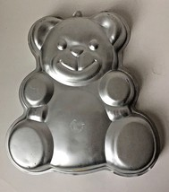 Vintage Teddy Bear Cake Pan Mold for Birthday Baby Shower 1982 502-3754 - $14.95