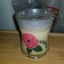 B3G1FREE* raspberry rose WoodWick 10oz Medium Jar Candle Burns  CRACKLE - $10.88