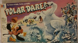 Vintage 1991 Milton Bradley POLAR DARE Board Game - Complete!  - $26.79