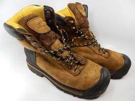 "Keen Wenatchee 8"" Size 12 M (D) EU 46 Men's WP Steel Toe Work Shoes 1007974"
