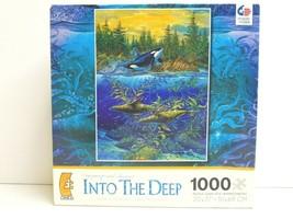 Robert Lyn Nelson Into The Deep 1000 Pc Ceaco Puzzle Ocean Aquatic Marin... - $27.71