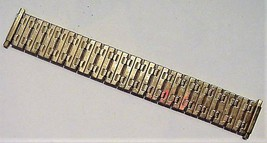 Vintage Speidel Stretch Gold-Tone Watch Band NOS - $23.95