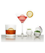 4pcs Ice Mold Whiskey Cocktail Ice Cube Ball Maker Individual DIY Ice Cu... - ₨634.51 INR