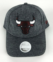 Chicago Bulls Baseball Adjustable Hat New Era 29Twenty Women Heather Gra... - $24.74