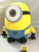 Universal Studios Despicable Me 2 Minions Movie Stuart 16 Inch Plush EUC - $19.79