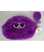 NWT FLUFFLES Pouch & Keychain Holder Purple KIDS - NEW WITH TAGS 8381570... - $16.71