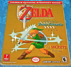 The Legend of Zelda A Link to the Past Prima's Strategy Guide 2002 Nintendo BOOK - $19.86