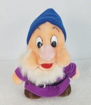 "Walt Disney Disneyland Snow White & the Seven Dwarfs SNEEZY 7.5"" Plush ... - $11.88"