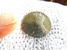 SILVER 1937 GREAT BRITAIN KING GEORGE VI & QUEEN ELIZABETH CORONATION 32... - $42.01