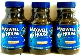 Maxwell House The Original Roast Instant Coffee 12 oz ( Pack of 3 ) - $39.59