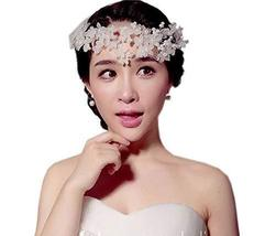 Fashion Beads Bridal Hair Accessories Flower Hair Clip