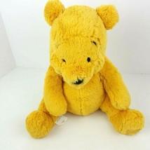 "Disney Store Plush MC Winnie The Pooh Stuffed Animal 12"" Sewn Face Pelle... - $17.81"