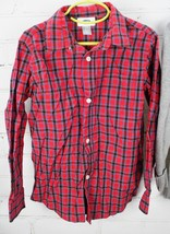 Old Navy Plaid Button Down Shirt + Gap Kids Sweater Boys Size S 6-7 Holiday Set image 2