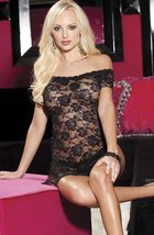 Shirley of Hollywood SoH-HL 96351 Chemise Black Bl - $50.99