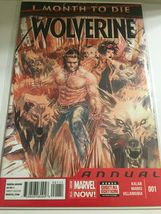 2014 Marvel Comics Wolverine 1 Month to Die #1 - $5.95