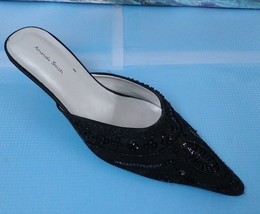8 Smith 5M Black Heels Amanda Beeded Size Womans BZY7nwqdp