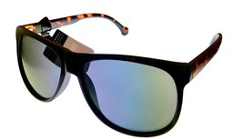 Converse Black Tortoise Mens Sunglass Rectangle Plastic, Polarized Lens H055 - $22.49