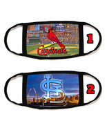St. Louis Cardinals Face Mask with black string reusable washable #2 - $14.54+