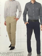 Burda Sewing Pattern 6873 Mens Pants Size 34-44 New - $14.77