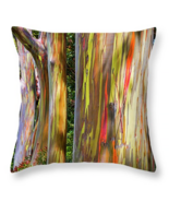 Painted trees in Maui, Throw Pillow, fine art, ... - $41.99 - $69.99