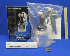 New Paint Sprayer Excell Multi Purpose Spray Gun Used With Air Compressor - $46.39