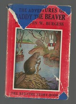 Burgess ADVENTURES OF PADDY THE BEAVER   w/d     EX   1943 - $22.80