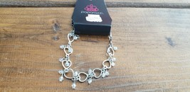 Paparazzi Bracelet (New) #486 Silver Sweetheart - $7.61
