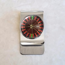 American Roulette Vice Gambling Stainless Steel Money Clip - $20.00